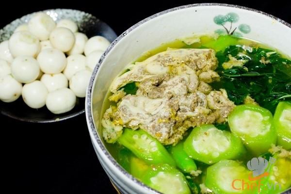 Cách nấu canh cua rau đay thanh mát bổ dưỡng