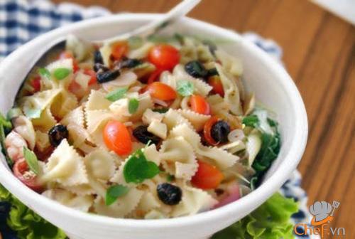 Salad mỳ Ý - ngon miệng mà không phải lo ngại tăng cân